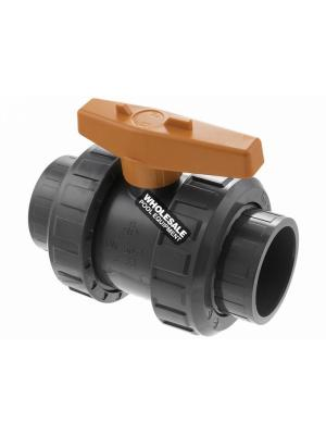"Praher BV6-1501PES True Union 1.5"" SLP Ball Valve"
