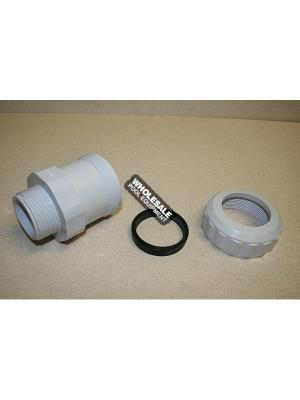 Hayward SPX1485DA Compression Fitting with Gasket For S240PAK 2; 3 and System II Sand Filter and S200PAK 3 System Base