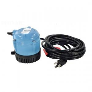 Franklin Electric 500500 Little Giant Submersible Cover Pump - 1/200 HP 115 V 18' Cord 170 gph