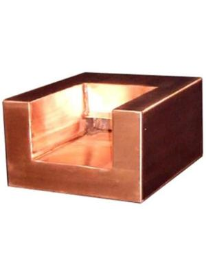 "12"" U Shaped Copper Scupper"