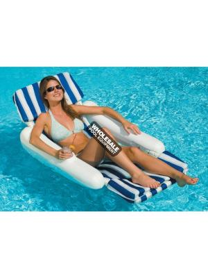 International Leisure Products, 10010, Swimline Water Sports, Swimline(R) SunChaser Floating Loungers, SunChaser(TM) Padded Luxury Lounge Chair