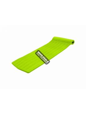 "TEXAS RECREATION CORP 8070039 Serenity Pool Float; Color: Kool Lime Green, Approximate Dimensions: 70""L x 25""W x 1.50"" Thick, Material: Vinyl Coated - Ripple Textured Foam"