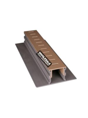 Stegmeier PD2T Adjustable Height Paver Drain; 10 ft, Tan