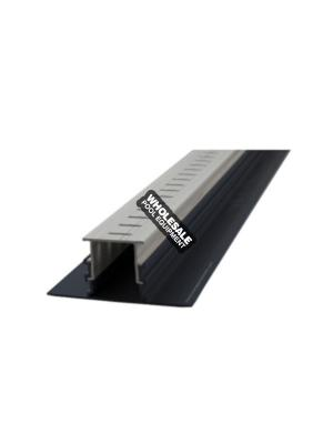 Stegmeier PD2M Adjustable Height Paver Drain; 10 ft, Marble
