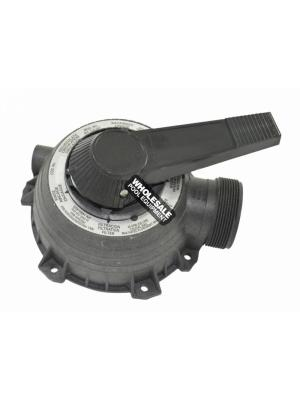 Pentair 77704-0104 Plug and Cover Assembly For Sta-Rite(R) 1-1/2 Inch MultiPort Valve Model WC112-148A; WC112-147