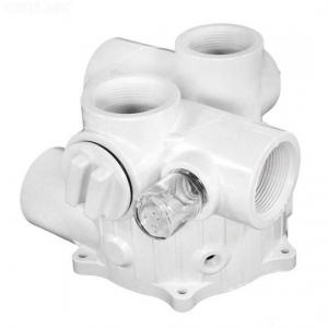 Hayward SPX0710XALLAA Valve Body with Gasket and Sight Glass For SP0710; SP0710X; SP0711; SP0712 1-1/2 Inch Vari-Flo(TM) Multiport Valves