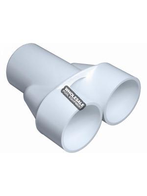 "WATERWAY PLASTICS 672-8000 2""Sx2""Sx2""S MANIFOLD WYE"