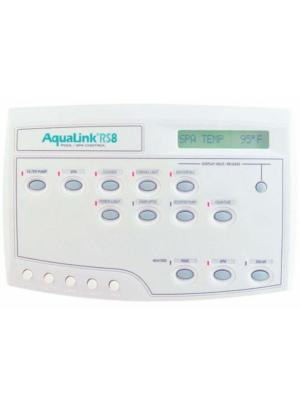 Jandy AquaLink RS All Button Wired Combo PS8 Control Panel, White