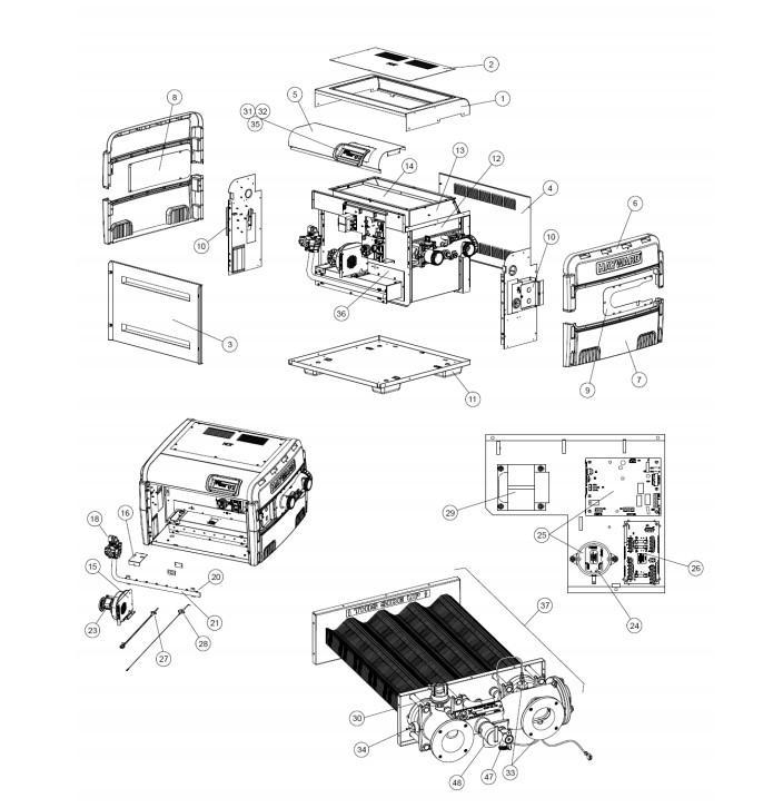 Hayward H400FDNASME H-Series ASME Digital Low NOx Heater - Natural on