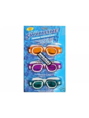 International Leisure Products, 9318, Swimline Water Sports, Swimline(R)Recreational Swim Googles, St. Lucia Swim Goggle, Youth/Adult Size