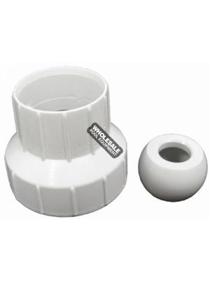 Zodiac / Polaris 6-510-00 65/165/Turbo Turtle Pool Cleaner Universal Wall Fitting Adapter, 1-1/4in. or 2in.