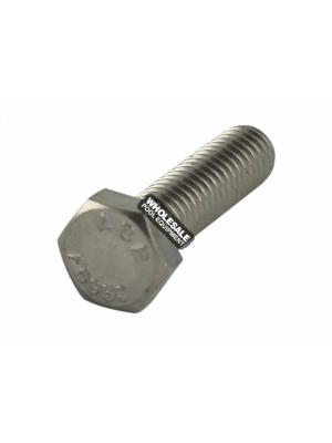 Pentair U30-64SS Stainless Steel Hex Head Cap Screw For JWP-Series Pool and Spa Aboveground Pump; Suction Trap Assembly; 5/16-18