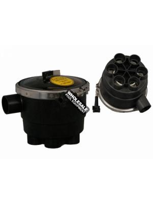 A & A 6-Port Low Profile T-Valve; 1-1/2 Inch