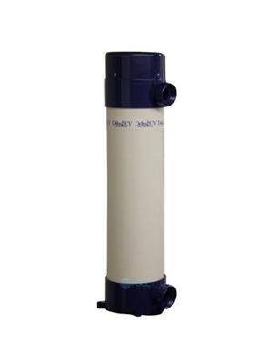 Delta Ultraviolet 37-08546 D D-110 Ultraviolet Sanitizer; 2 Inch Inlet/Outlet, PVC Plastic, 90 W, 120/240 V-50/60 Hz