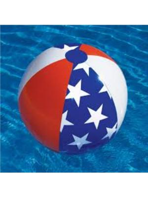 International Leisure 90016, Swimline Water Sports, Americana Series Beach Ball