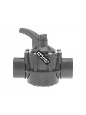 "Hayward PSV2S2 CPVC 2-Way PSV Diverter Valve 2""-2.5"""
