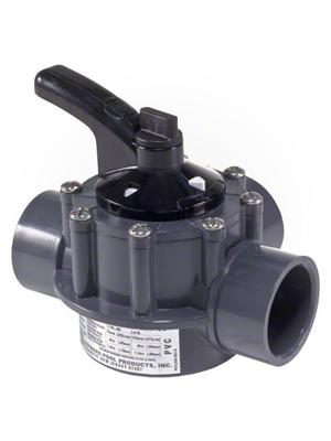 "Hayward PSV2SDGR  PVC 2-Way PSV Diverter Valve 1.5""-2"""
