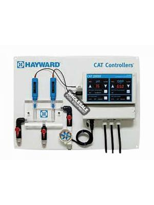 Hayward Commercial Automated Without Flow Cell or Flow Switch pH and ORP Controller and Sensor