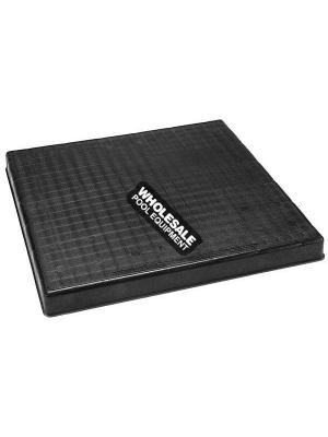 "DIVERSITECH CORPORATION 36""X36""X2"" BLACK PLASTIC EQUIPMENT PAD"