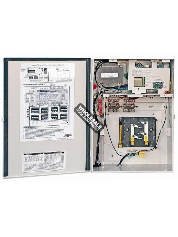 Jandy PureLink Sub-Panel Power Center, 12 Breaker Base