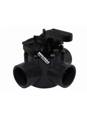 Pentair 263037 PVC 3-Way Valve, 1.5-2""